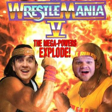 """#15 Wrestlemania V: Hulk Hogan Vs. """"Macho Man"""" Randy Savage"""