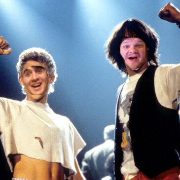 #166 Bill And Ted's Excellent Adventure (Sample)